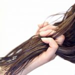 洗髪後の髪